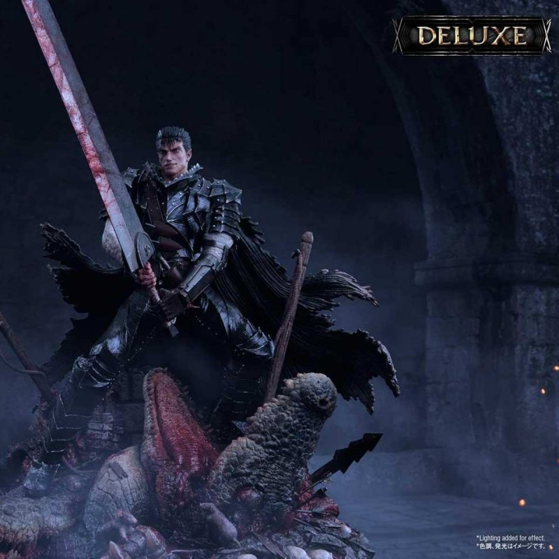 Guts Berserker Armor Unleash (Deluxe Version) - Berserk - 1/4 Scale Polystone Statue