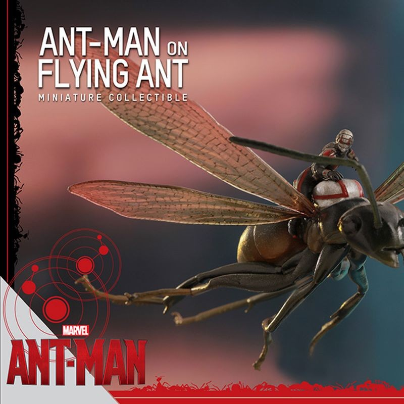 Ant-Man on Flying Ant - Ant-Man - Compact Figur