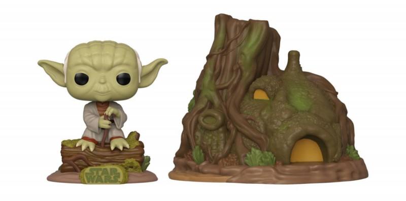 Yoda's Hut Empire Strikes Back 40th Anniversary - Star Wars - POP! Town Vinyl Figur