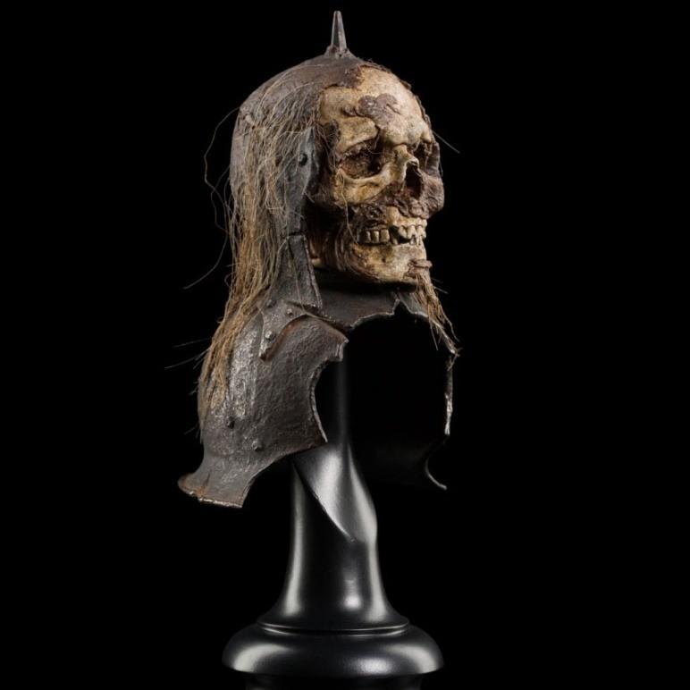 Skull Trophy Helm of the Orc Lieutenant - Herr der Ringe - Replika 18 cm