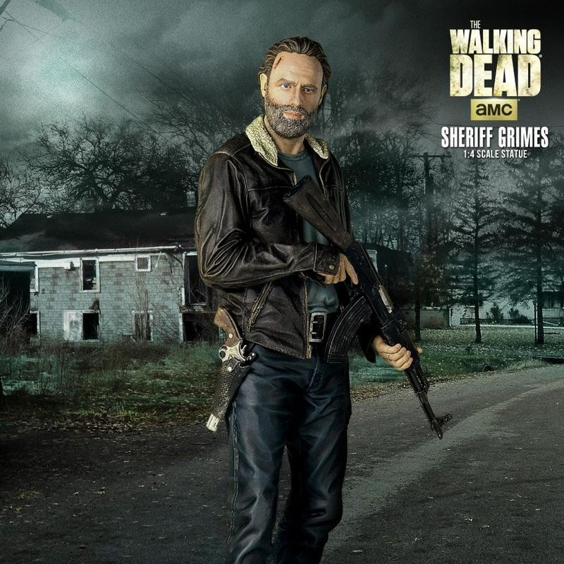 Rick Grimes - The Walking Dead - 1/4 Scale Statue