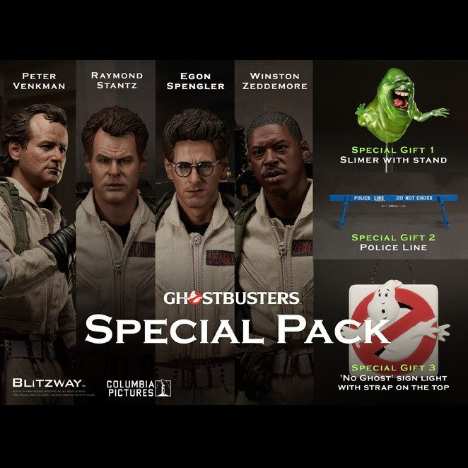 Special Pack (Set of 4) - Ghostbusters - 1/6 Scale Figuren Set