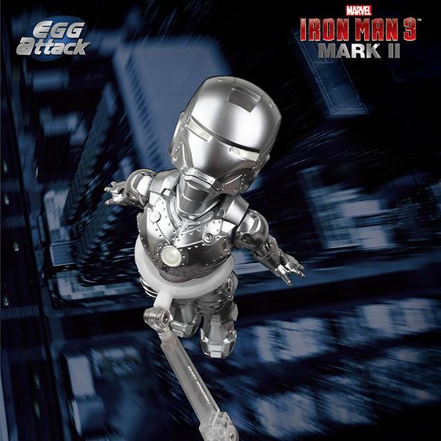 Mark 2 - Iron Man - Egg Attack Figur