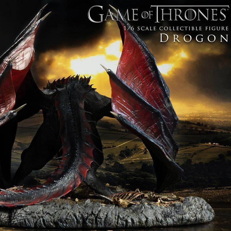 Drogon - Game of Thrones - 1/6 Scale Statue
