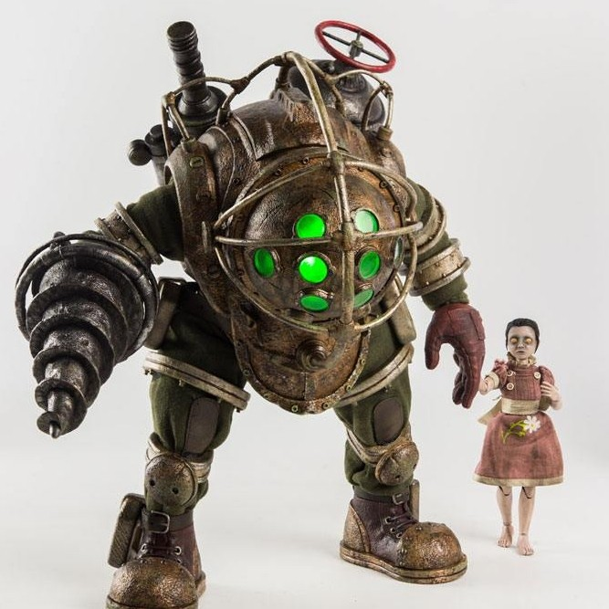 Big Daddy & Little Sister - BioShock - 1/6 Scale Action Figuren