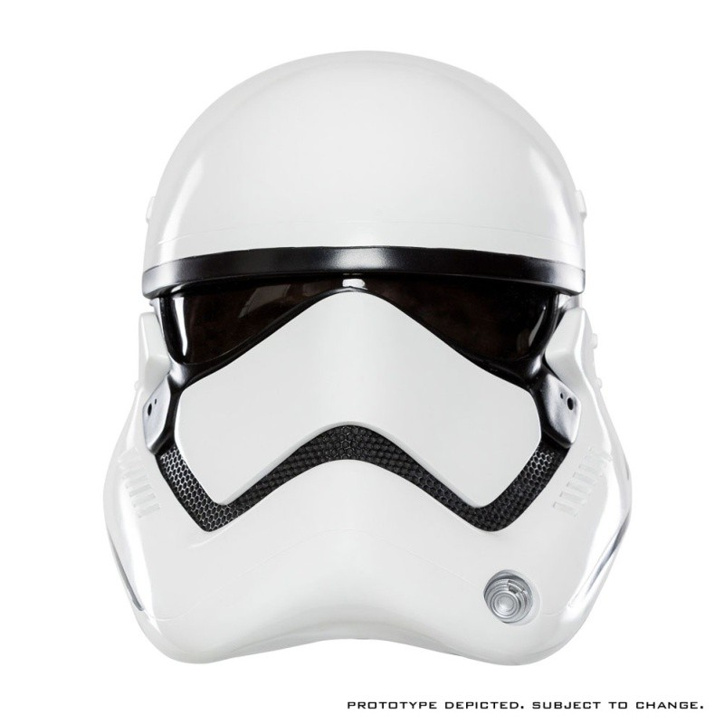 First Order Stormtrooper Helm Standard Version - Star Wars - 1/1 Replik