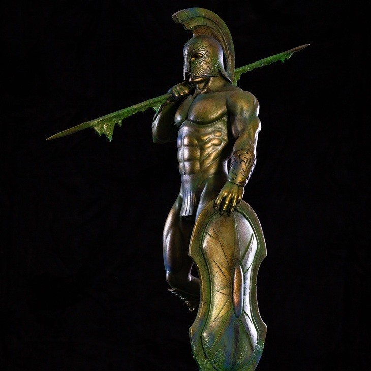 Atlantis Statue - 1/4 Scale Statue by Frazetta