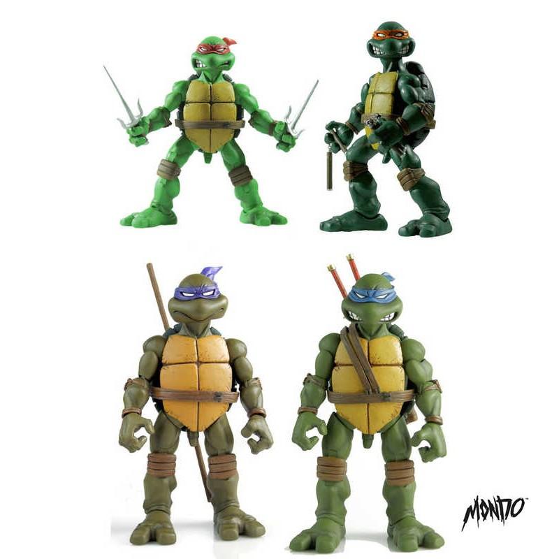 Turtles 4er Set - TMNT - 1/6 Scale Actionfiguren Set