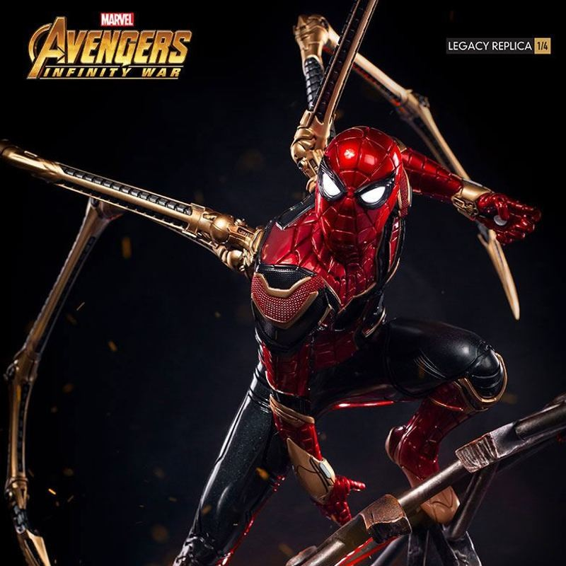 Iron Spider-Man - Avengers Infinity War - 1/4 Scale Legacy Replica Statue