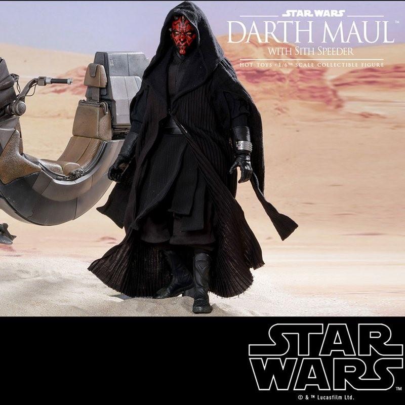 Darth Maul & Sith Speeder - Star Wars Episode I - 1/6 Scale Figur