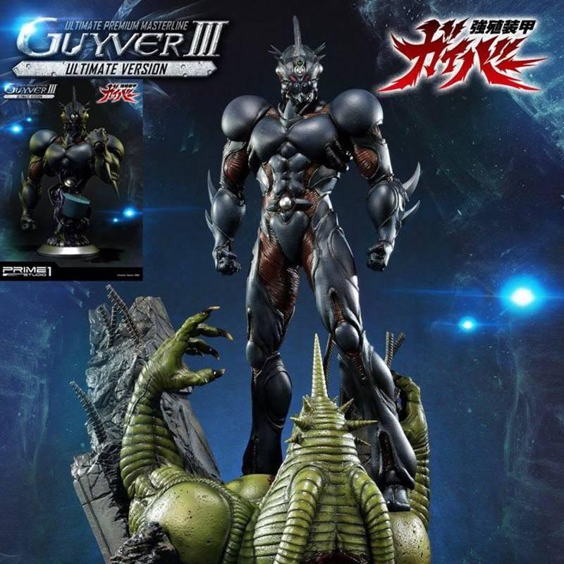 Guyver III Ultimate Edition Set - Guyver The Bioboosted Armor - Polystone Statue