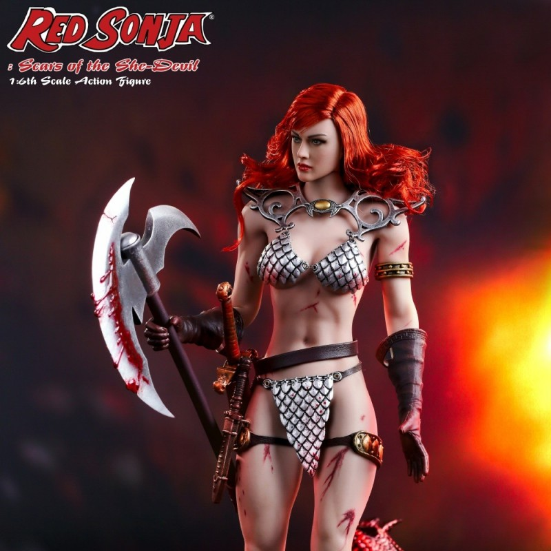 Red Sonja - Scars of the She-Devil - 1/6 Scale Actionfigur