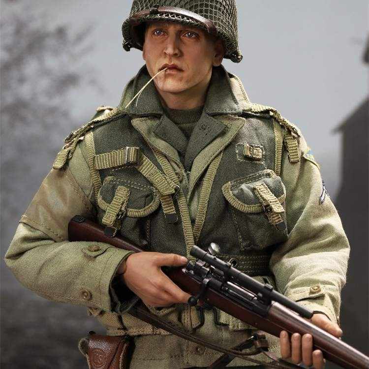 Private Jackson - WWII US 2nd Ranger Battalion Series 4 - 1/6 Scale Actionfigur