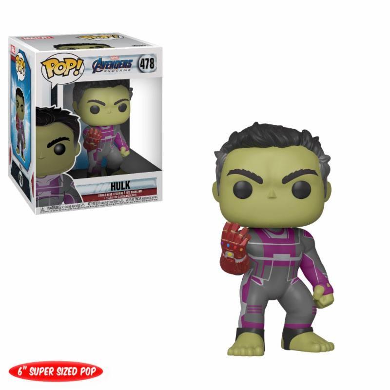 Hulk - Avengers: Endgame - Marvel Oversized POP! Vinyl Figur