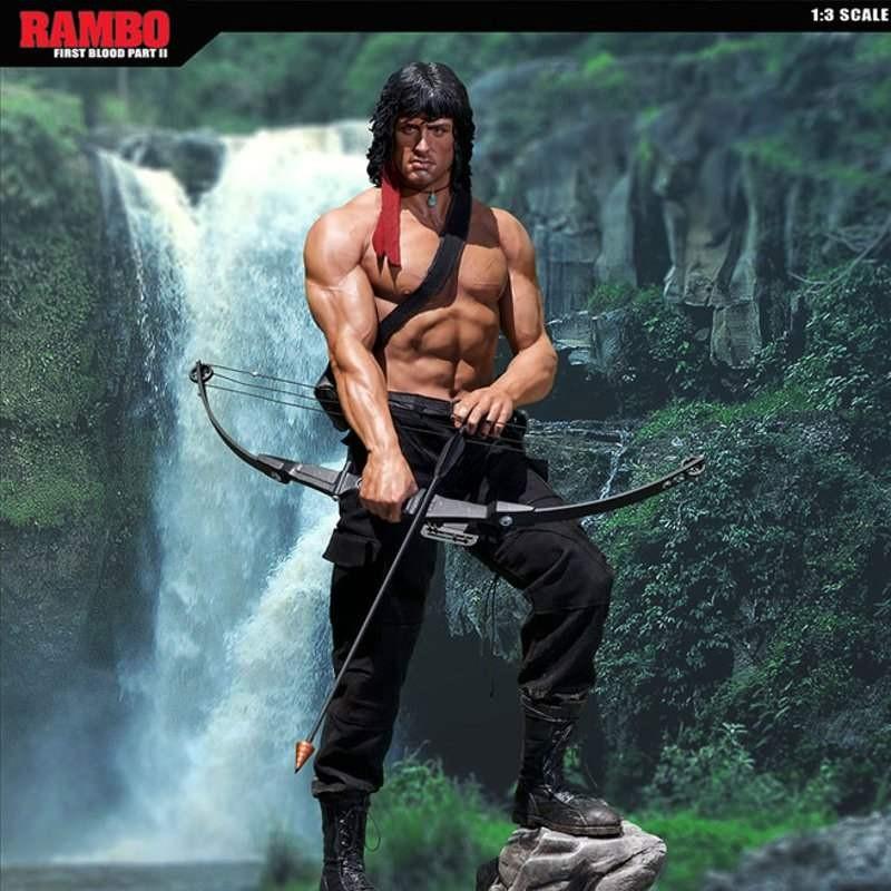 John Rambo - Rambo II Der Auftrag - 1/3 Scale Statue