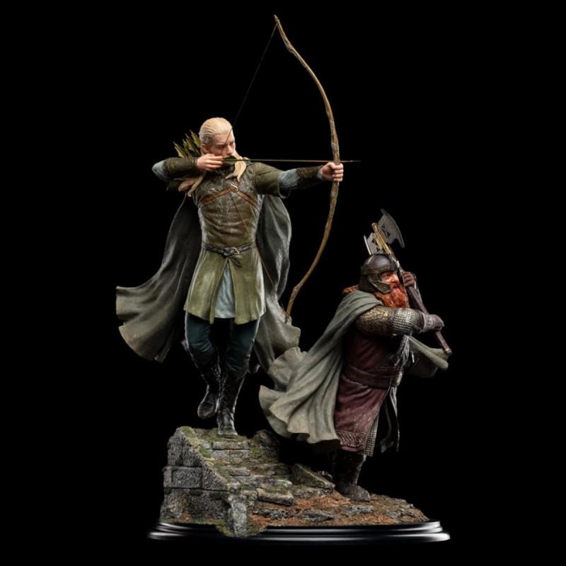 Legolas and Gimli at Amon Hen - Herr der Ringe - 1/6 Scale Statue