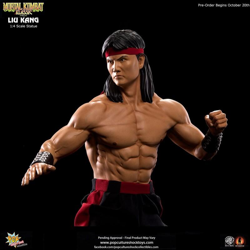 Klassic Liu Kang - Mortal Kombat - 1/4 Scale Statue