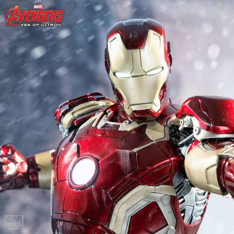 Iron Man Mark XLIII - Avengers - 1/4 Scale Statue