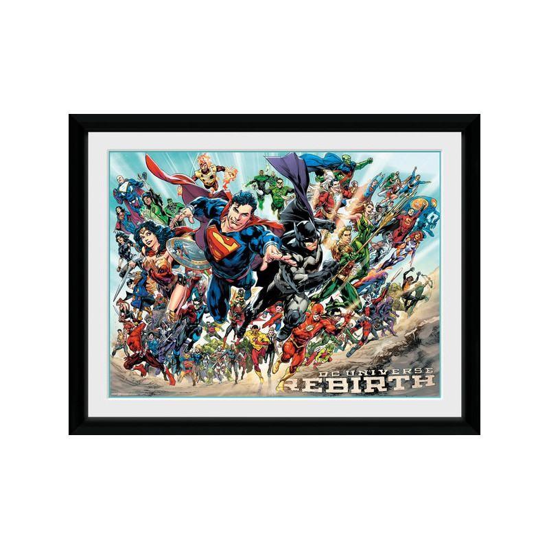 Universe Rebirth - DC Comics - Poster im Rahmen
