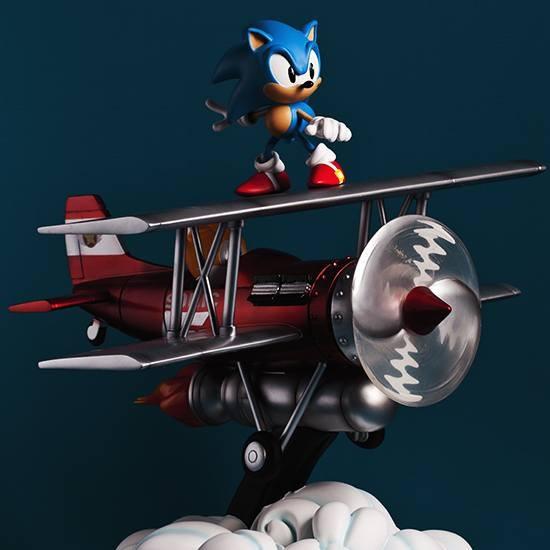 Sonic The Tornado - Sonic the Hedgehog - Diorama