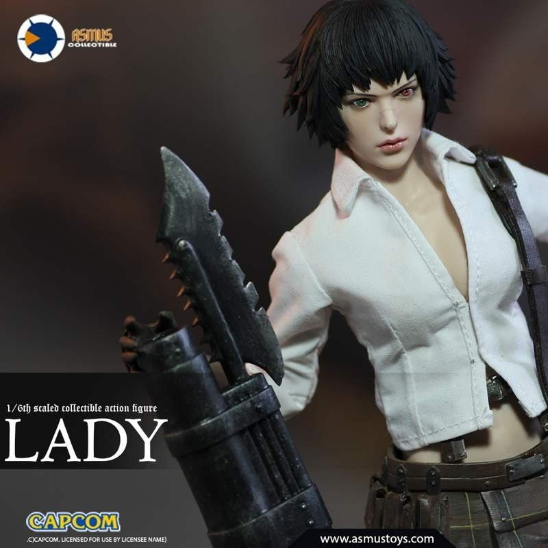 Lady - Devil May Cry 3 - 1/6 Scale Actionfigur
