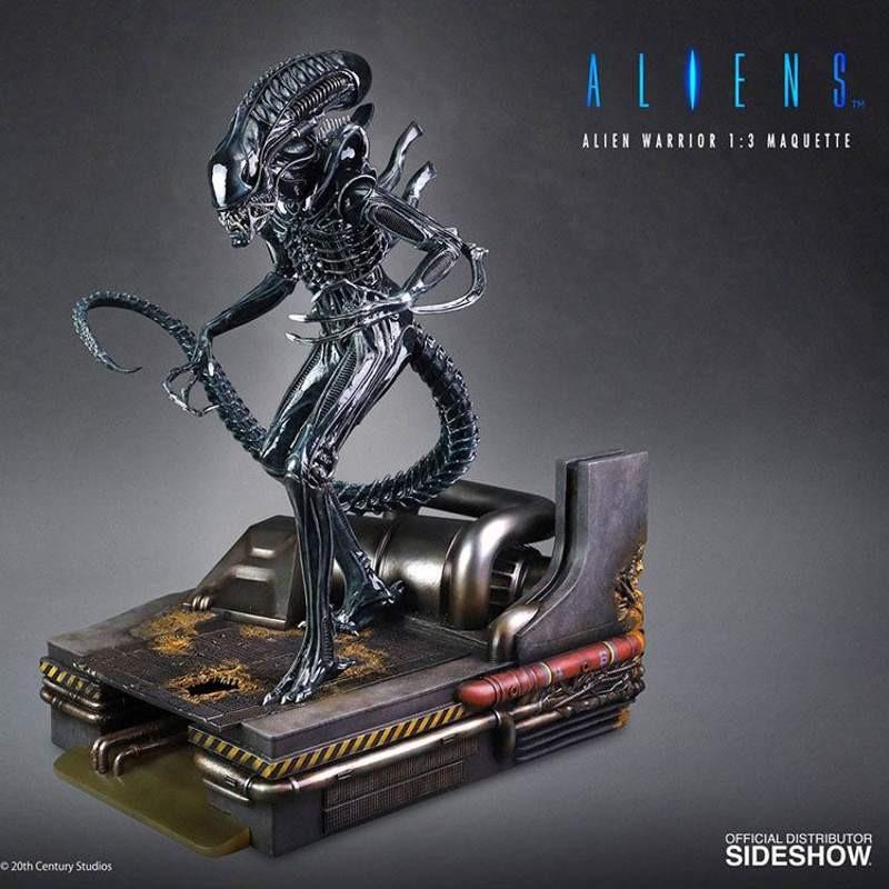 Alien Warrior - Alien - 1/3 Maquette