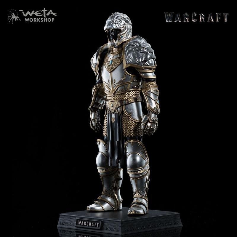 Rüstung von König Llane - Warcraft - 1/6 Scale Statue