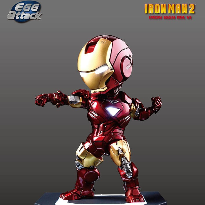 Mark 6 - Iron Man - Egg Attack Figur