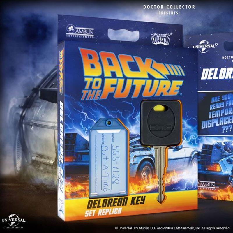 DeLorean Autoschlüssel - Zurück in die Zukunft - Replik 1/1