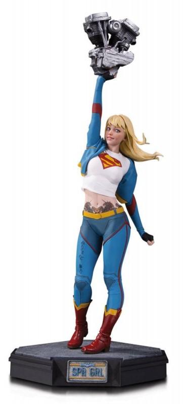 Supergirl - Gotham City Garage - Resin Statue