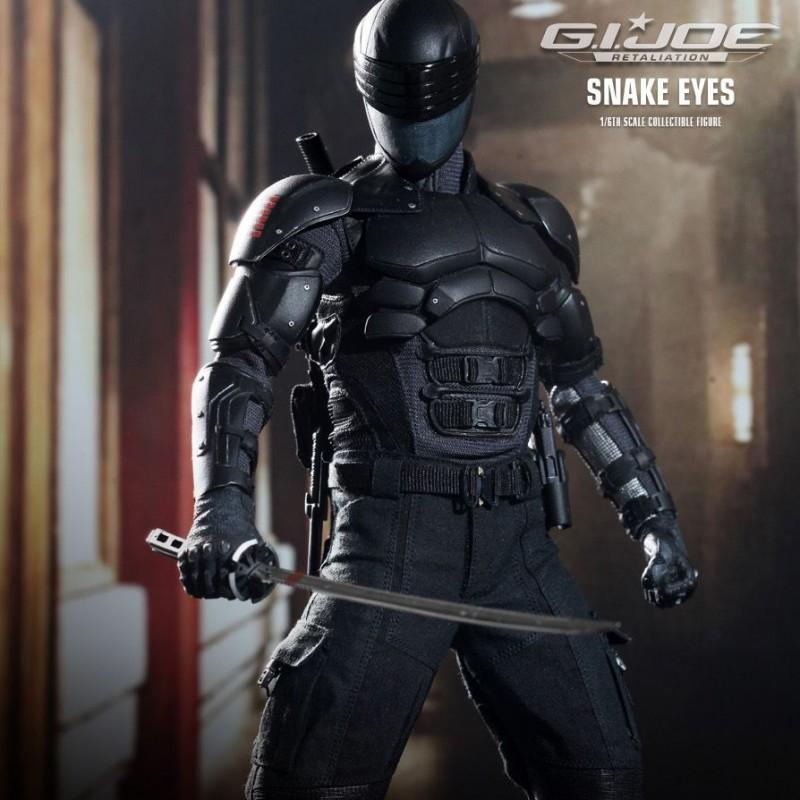 Snake Eyes - G.I. Joe Retaliation - 1/6 Scale Figur
