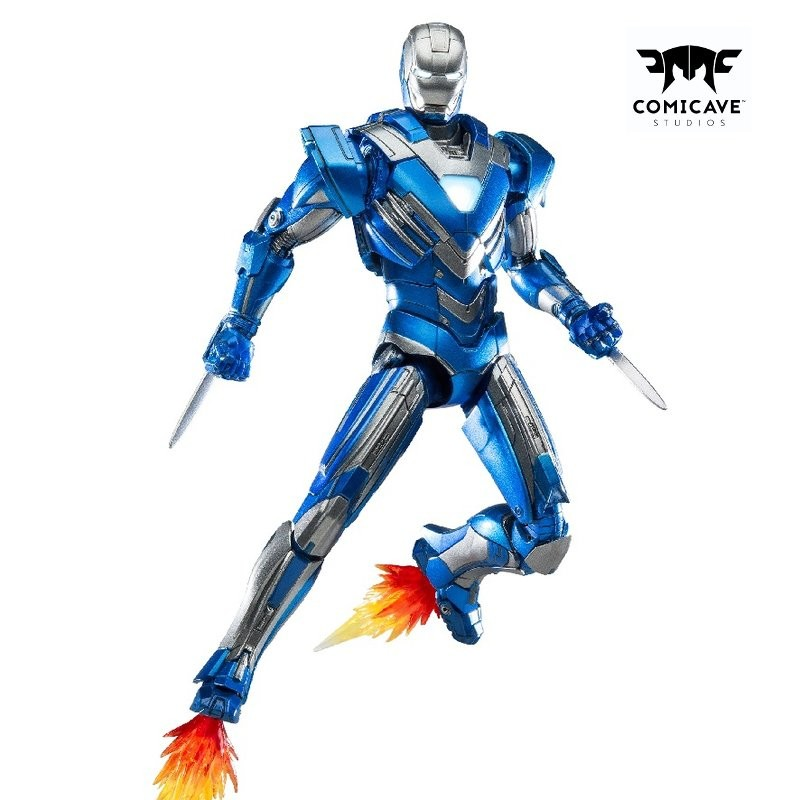 Iron Man Mark XXX (Blue Steel) - 1/12 Scale Diecast Actionfigur