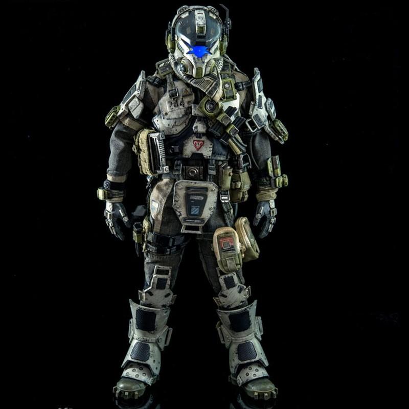 IMC Battle Rifle Pilot - Titanfall - 1/6 Scale Action Figur