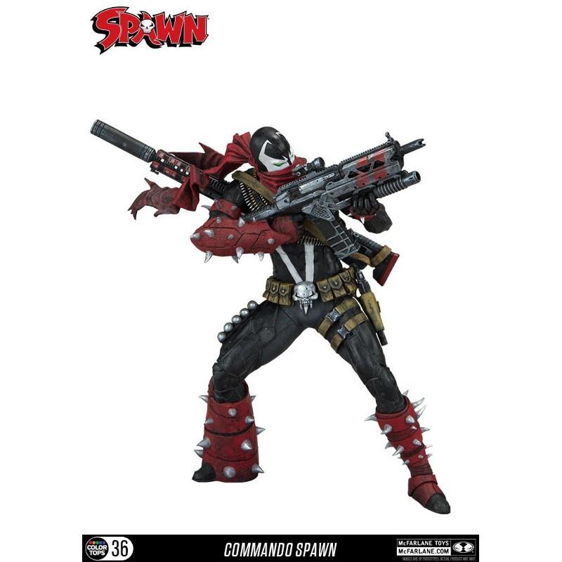 Commando Spawn - Color Tops Actionfigur 18cm