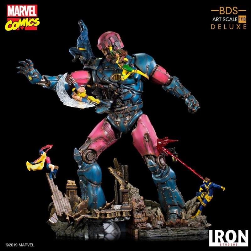 X-Men VS Sentinel - Marvel Comics - 1/10 BDS Art Scale Deluxe Statue