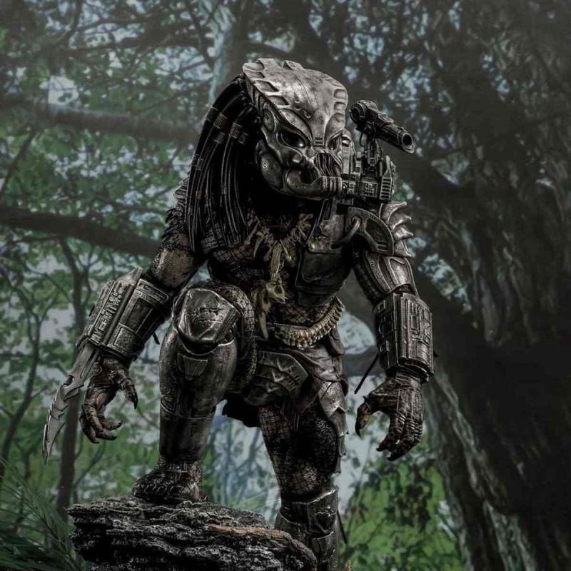 Big Game Cover Art Predator Deluxe Version - Predator - 1/4 Scale Polystone Statue