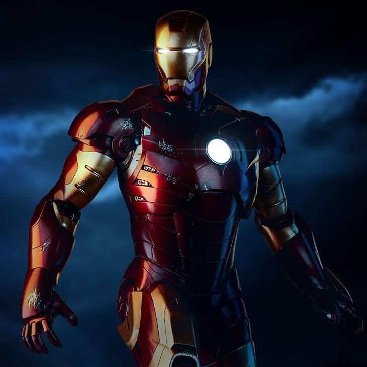 Iron Man Mark III - Iron Man - Maquette