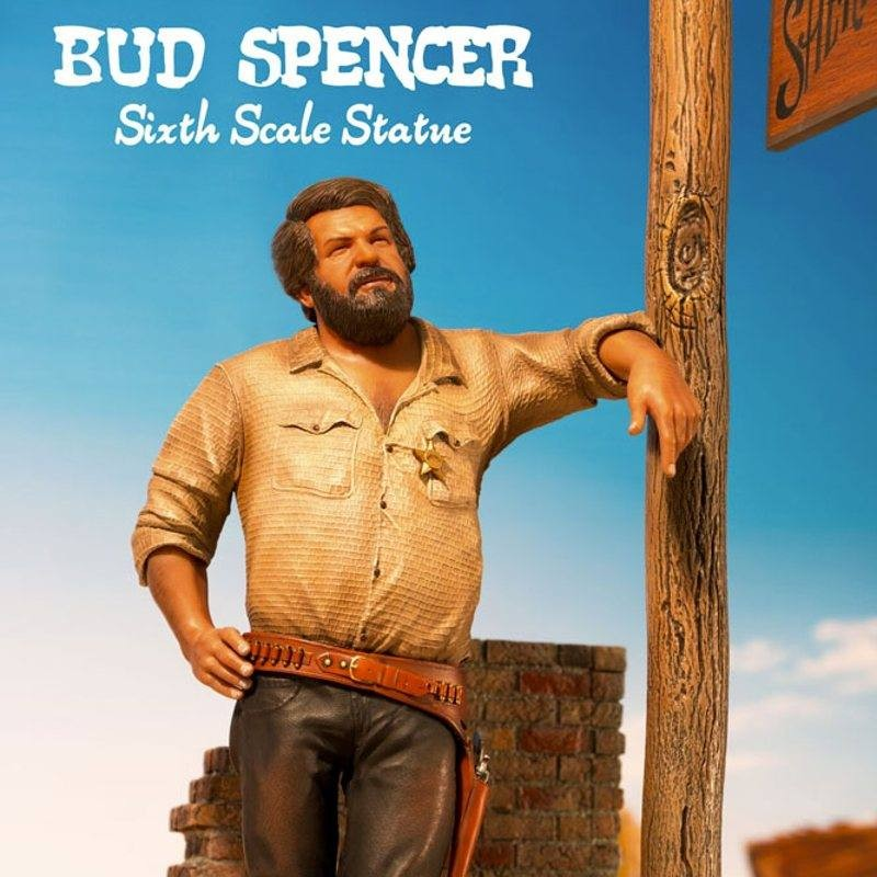 Bud Spencer Statue 1970 - 1/6 Scale Resin Statue