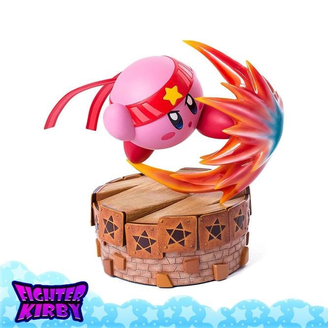 Kämpfer Kirby - Kirby's Return to Dream Land - Polystone Statue