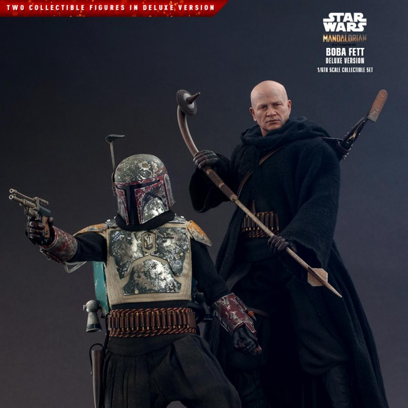 Boba Fett Deluxe - Star Wars The Mandalorian - 1/6 Scale Figuren Set
