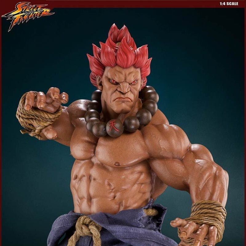 Akuma Retail Version - Street Fighter - 1/4 Scale Statue
