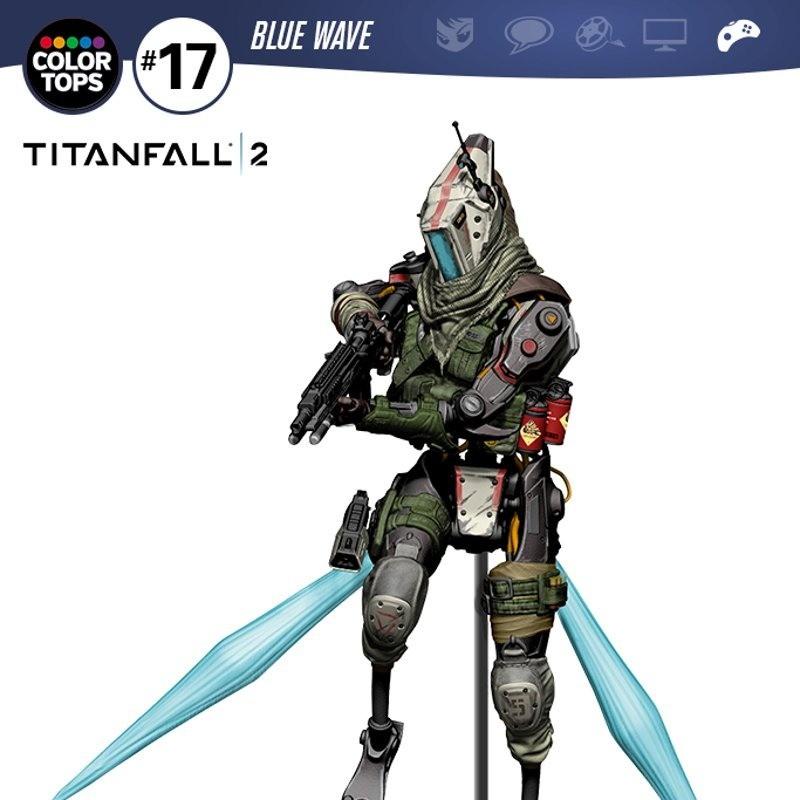Jester - Titanfall 2 - Color Tops Actionfigur 18cm