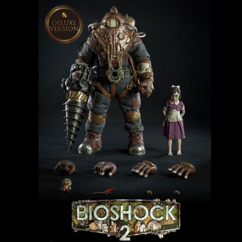 Subject Delta & Little Sister Deluxe Version - BioShock 2 - 1/6 Scale Action Figuren