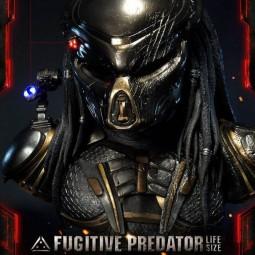 Fugitive Predator Deluxe Version - Predator 2018 - Life-Size Büste