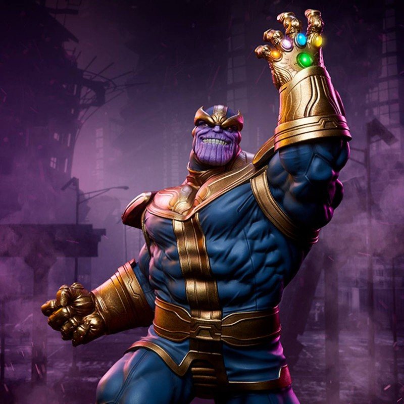 Thanos (Modern Version) - Avengers Assemble - 1/5 Scale Polystone Statue
