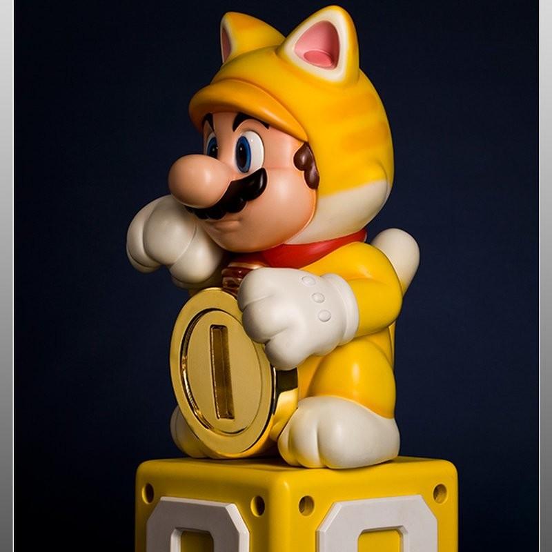 Cat Mario - Super Mario - Polystone Statue