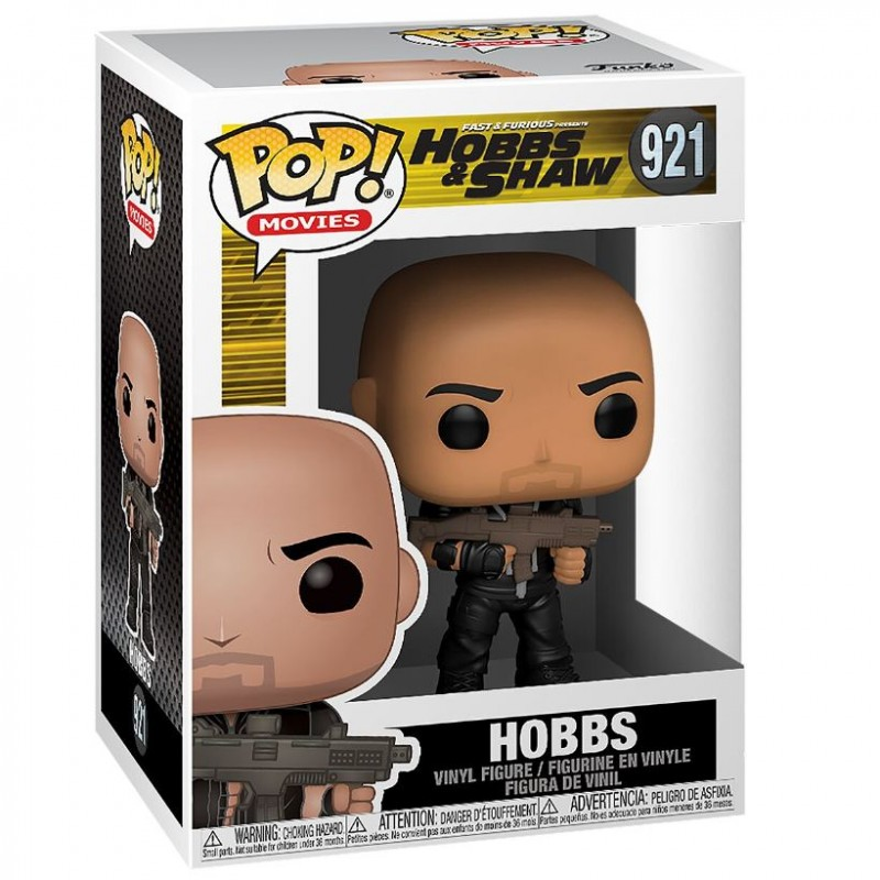Hobbs - Hobbs & Shaw - Movies POP! Vinyl Figur-Copy