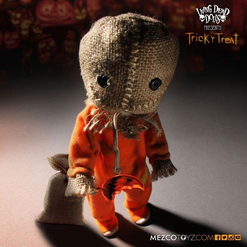 Sam - Trick 'r Treat - Puppe 25cm