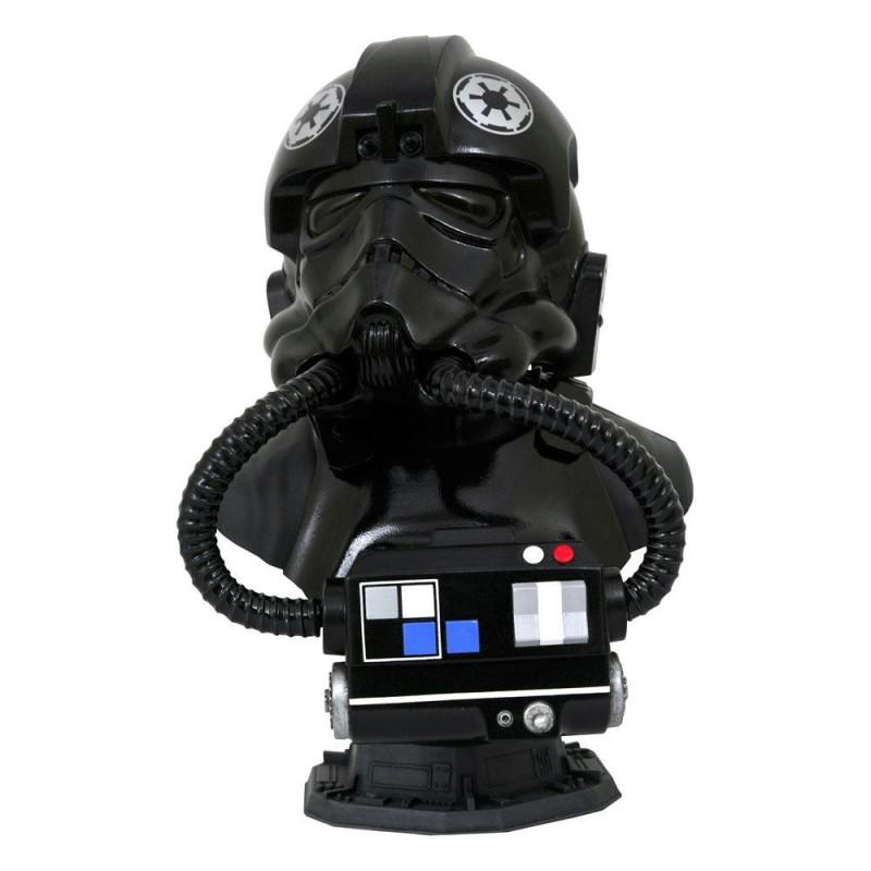 TIE Pilot - Star Wars - 3D 1/2 Scale Büste