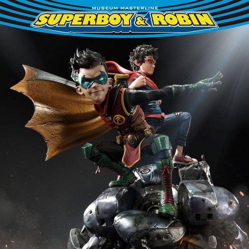 Superboy & Robin - DC Comics - 1/3 Scale Statue